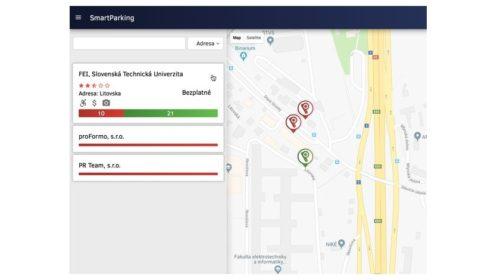 SmartParking vám nájde voľné parkovacie miesto a ušetrí drahocenný čas