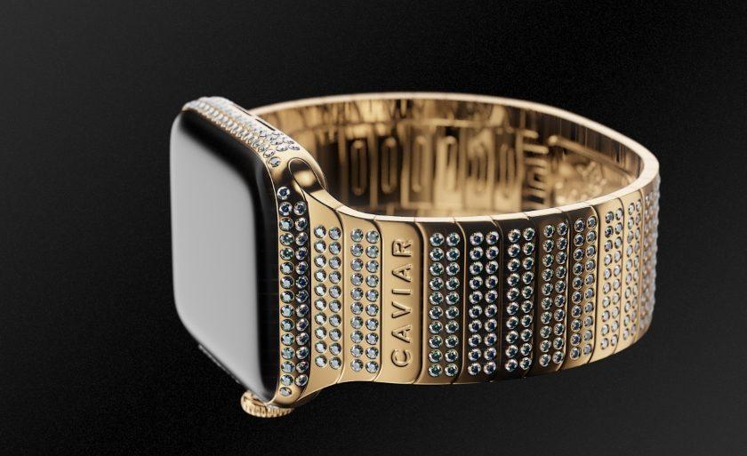 Apple Watch by Caviar 633 diamonds