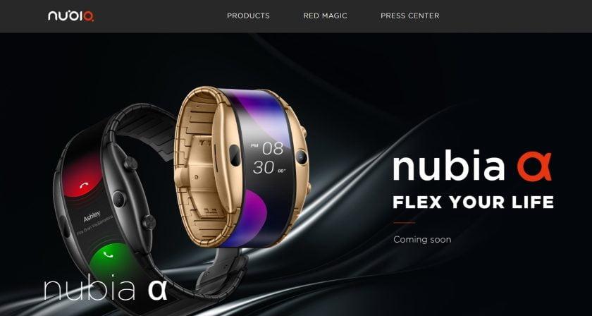 Nubia Alpha