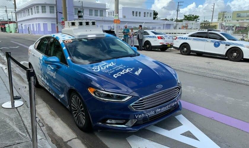 Ford shared autonomous