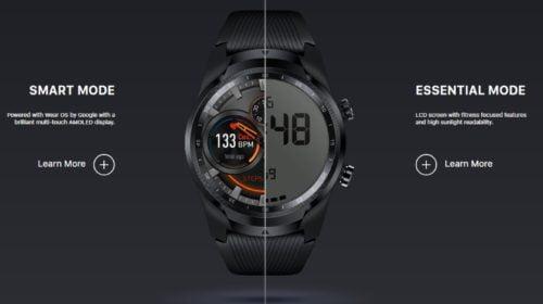 Inteligentné hodinky s dvomi displejmi a až 30 dňovou výdržou