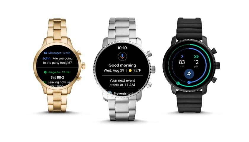 Inteligentné hodinky s Google Wear OS