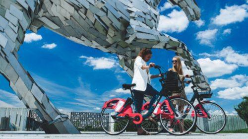 Zdieľané bicykle pomôžu doprave v rozsiahlom športovom areáli